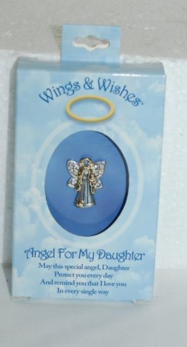 DM Merchandising Wings Wishes Daughter Angel Diamond Colored Wing Stones