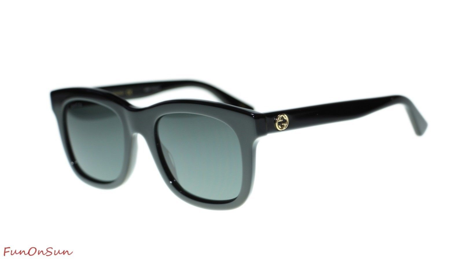 3dae822460f Gucci Women s Sunglasses GG0326S 001 Black and 35 similar items. 10