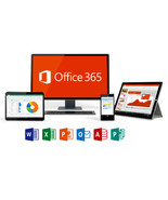 Microsoft Office 365 Pro Plus 2016 5 Device Account Win/Mac/iOS  - £3.94 GBP