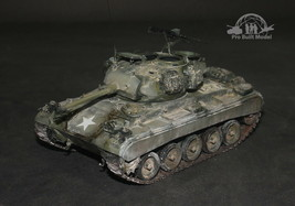 M24 Chaffee Light Tank Vietnam war 1:35 Pro Built Model  - $212.85