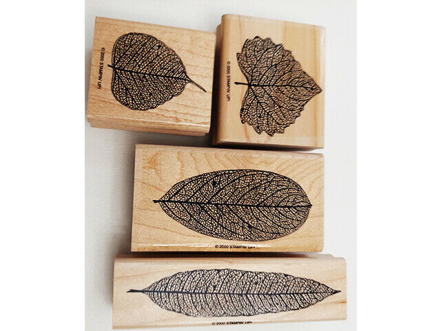 Stampin' Up! Autumn Rubber Mounted Wood Stamp Set