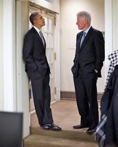 BILL CLINTON & BARACK OBAMA at the White House  - $7.18