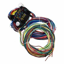 21 Circuit Wiring Harness Street Hot Rat Rod Custom Universal Wire Kit XL WIRES image 2