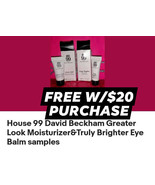 House 99 David Beckham Sample Set FREE WITH $20 PURCHASE - Freebie