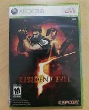 Resident Evil 5 (Microsoft Xbox 360, 2009) Brand New - $18.72