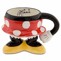 Disney Parks Body Parts Minnie Skirt Ceramic Coffee Mug New - $26.42