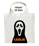 Scream Trick or Treat Bag, Personalized Ghostface Halloween Bag, Scream ... - $11.99+