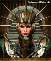 xjtm Demon Female Pharaoh Vampire Djinn & Her Dark Demon Army Betweenall... - $165.49