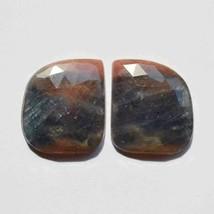 83.5 Carat Natural Multi Sapphire Gemstone Natural Pair Set Faceted Cut ... - $69.29