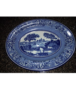 Daher Decorated Ware Long Island NY Blue 11101 Made In England - $16.00