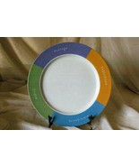 Mary Kay Pastel Inspirational Collection Chop Plate/Round Platter - $20.78