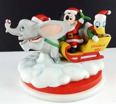 Disney 4th Édition Noël 1982 Dumbo Mickey Donald Duck Figurine Limitée - $29.75