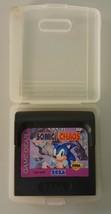 N) Sonic the Hedgehog Chaos (Sega Game Gear, 1993) Video Game Cartridge - $9.89