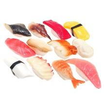 nakira Food sample Sushi grip 12 sorts real life big tuna squid octopus ... - $60.78
