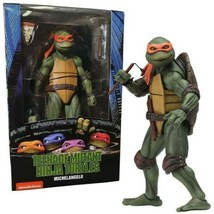 "NECA TMNT 1990 Movie 7"" Scale Action Figure OFFICIAL - MICHELANGELO - $39.05"