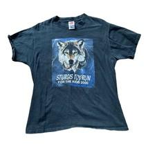 2000 Sturgis Toy Run Wolf Eagle Shirt sz L - £11.51 GBP