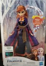 Disney Frozen 2 Singing Anna Musical Fashion Doll with Purple Dress - $11.65