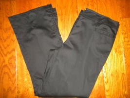 Anne Klein Studio AK Size 14 Black Stretch 2 Pockets Women Pants - $33.66