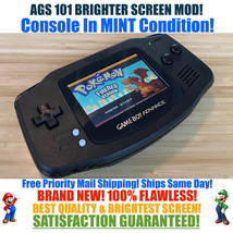 Nintendo Game Boy Advance GBA Black Out System AGS 101 Brighter Backlit Mod - $123.70