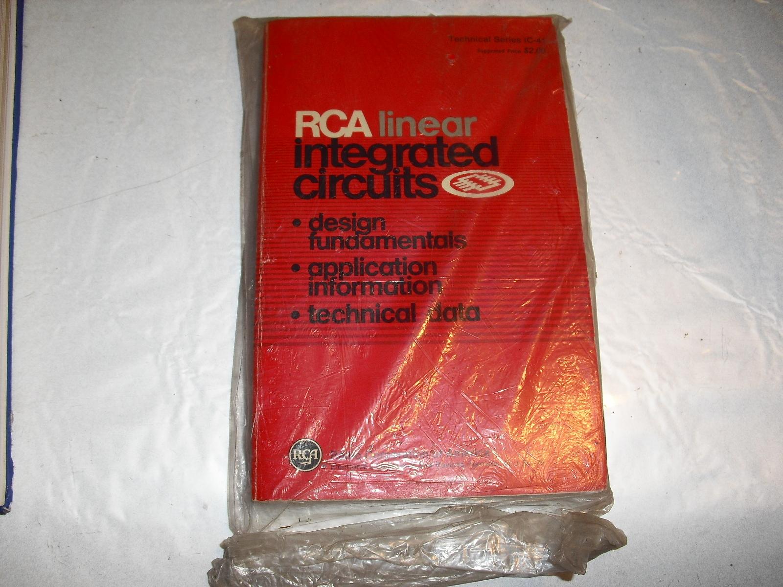 rca  liniar  integrated  circuits