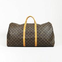 "Louis Vuitton ""Bandouliere Keepall 60"" Monogram Coated Canvas Bag - $1,270.00"