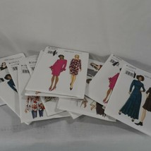 Lot of 12 Vogue Sewing Patterns Uncut Factory Folded In The Original Env... - $46.74