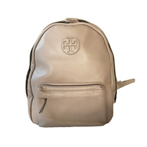 Tory Burch Leather Backpack - French Grey - $348.00