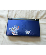 Nintendo DS Lite Cobalt Blue As Is For Parts or Repair Plays Carts Bad S... - $12.13
