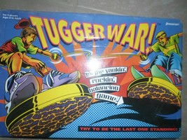 Tugger War 1994 Game by Pressman Children Boys Girls Family Strength Bal... - $5.93