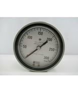 Weksler 300 PSIG K Monel Bourdon Pressure Gauge SA24-3PJP-RWBO New No Box - $33.68