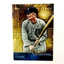 Ty Cobb 2015 Topps Archetype Insert #A-24 MLB HOF Detroit Tigers - $1.93