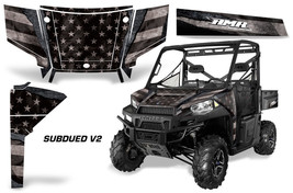 UTV Graphics Kit SxS Decal Wrap For Polaris Ranger 570 900 2013-2015 SUB... - $395.95