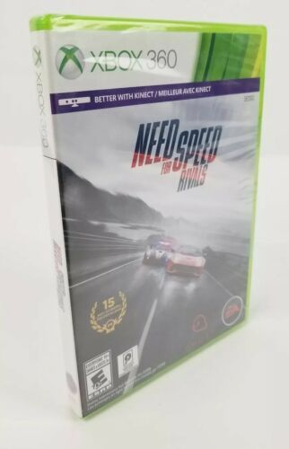 Need for Speed Rivals - Xbox 360,  Video Game New Sealed EA Racing Kinect