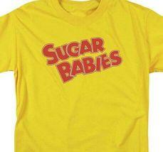 Sugar Babies logo t-shirt tootsie roll retro 80's candy graphic tee TR114 image 3
