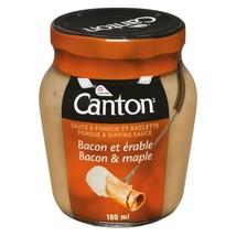 1 X Canton Bacon and Maple Fondue Sauce 180 ml/ 6oz -Canada - FRESH & DE... - $6.68