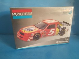 MONOGRAM 2440 #5 RICKY RUDD TIDE LUMINA Model Car NASCAR 1:24 Complete S... - $18.69