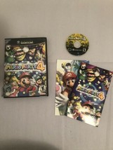 Mario Party 4 (Nintendo GameCube, 2002) Complete CIB Torn Artwork - $75.99