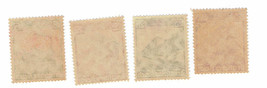 1935 German Railway Set of 4 Germany Postage Stamps Catalog Number 459-62 Mint image 2