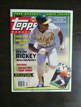 Topps Magazine Summer 1991 Rickey Henderson - With Cards & Posters Bo Ja... - $6.64