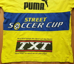 Vintage PUMA Street Soccer Cup t-shirt SIZE M Made in Turkey - $6.48