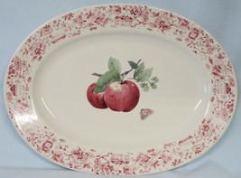"""Pfaltzgraff Delicious Small Oval Platter 12"""" - $30.58"""