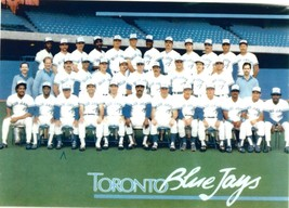 1989 BLUE JAYS 8X10 TEAM PHOTO BASEBALL PICTURE MLB - $3.95