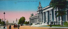 PARIS in 1900s Beautiful Chromotype Photo - Grand Palace Museum - $16.20