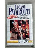 Luciano Pavarotti Live on Stage Cassette - $3.59