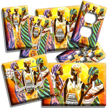 BEAUTIFUL YOUNG AFRICAN WOMEN BABY LIGHT SWITCH OUTLET COVER WALL PLATE ... - $10.99+
