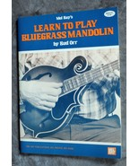 Mel Bay's  Learn To Play Bluegrass Mandolin by Bud Orr 1980 - $7.99