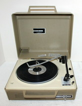GE V638h Portable 3-Speed Automatic Record Player Phonograph ~Fix ~ Wild... - $59.99