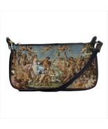 The Triumph Of Bacchus And Ariadne Baroque Art Black Shoulder Clutch Bag... - $37.99