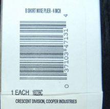 Wholesale Lot 4 Crescent 6 inch B Short Nose Pliers image 4