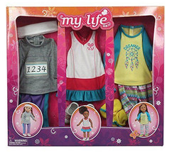 """MY LIFE AS Sports Girl 3 outfit clothing set for 18"""" dolls - $11.00"""